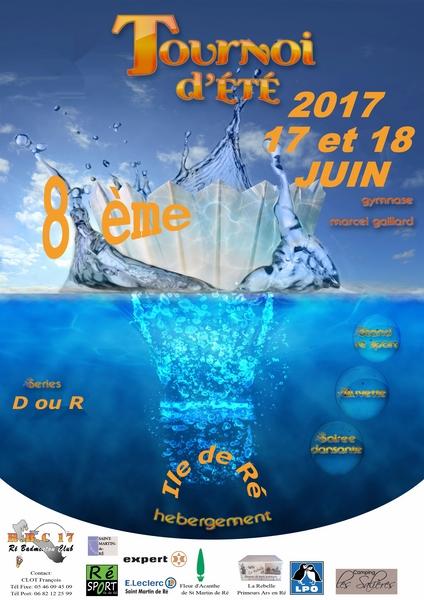 8ème tournoi d'été de l'Île de Ré